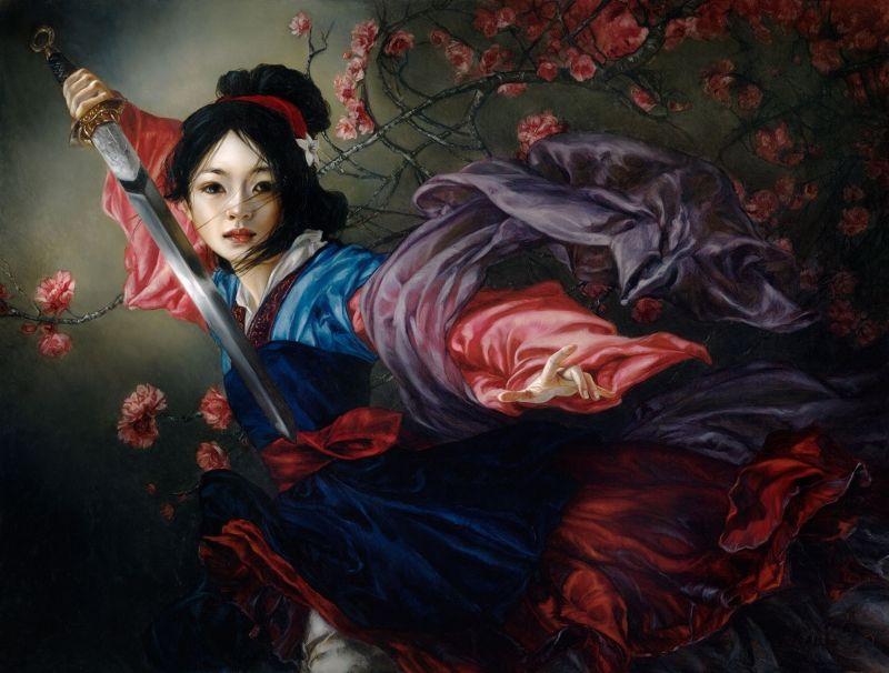 Renaissance Princess Recreations Disney Character Artwork
