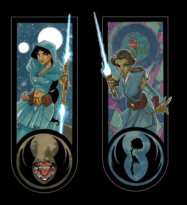 Galactic Princess Jedis