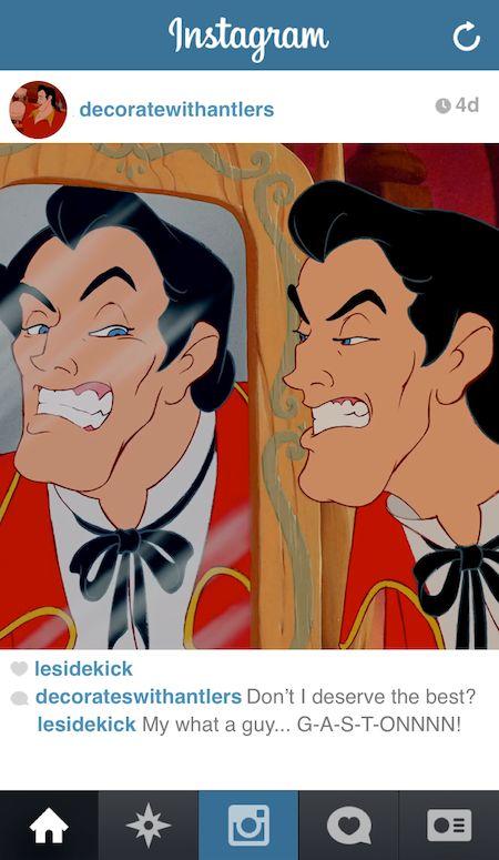 Self-Obsessed Disney Snapshots
