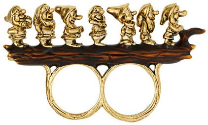 Disney Dwarf Rings