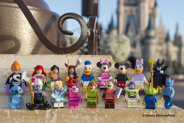 Building Block Disney Characters