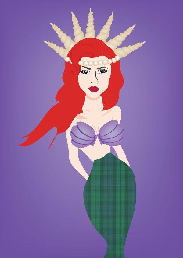Illustrated Disney Diva Makeovers