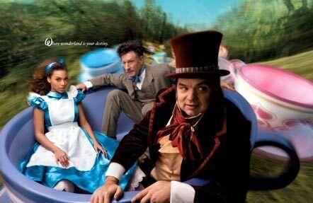 Disney Photoshoot Brings together Beckham, Beyoncé and Johansson