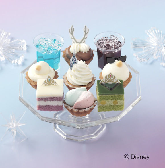 Icy Disney Princess Desserts