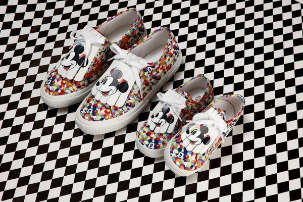 Vintage-Inspired Disney Sneakers