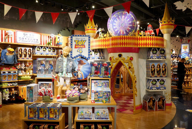 Immersive Disney Store Experiences