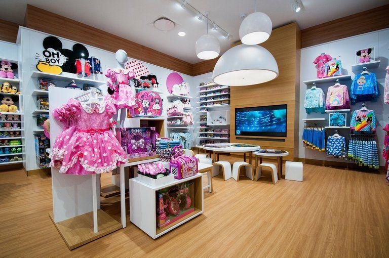 Redesigned Disney Stores