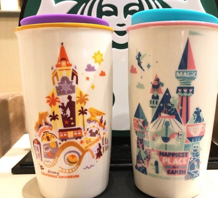 Disney-Themed Holiday Tumblers