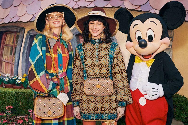 Celebratory Cartoon-Covered Couture