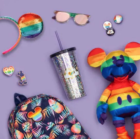 Pride-Themed Disney Collections