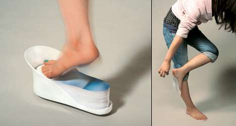 Barefoot Pads Leave Feet Free Without Dirt