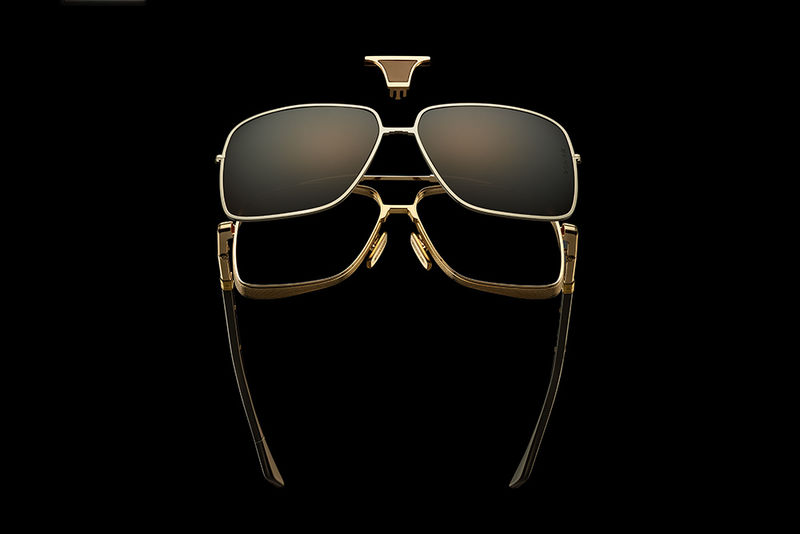 Limited-Edition Modular Sunglasses - The Dita Epiluxury Line Includes Six Styles in Total (TrendHunter.com)