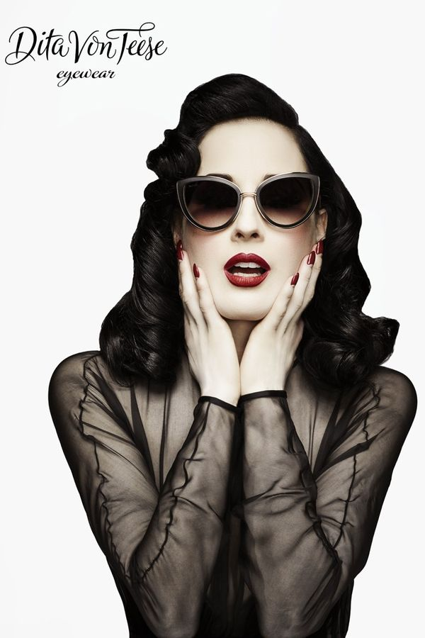 Burlesque-Worthy Sunglasses