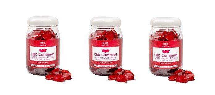 Summery CBD Gummy Supplements