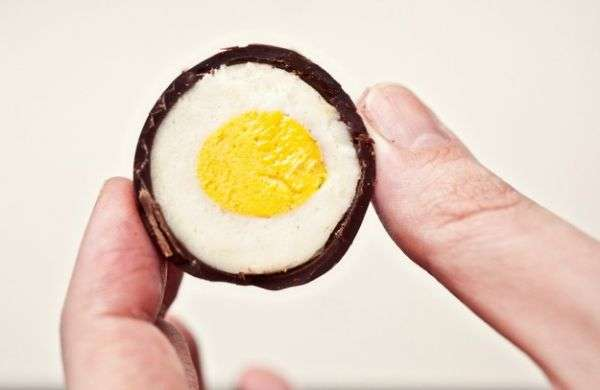 DIY Creme Eggs