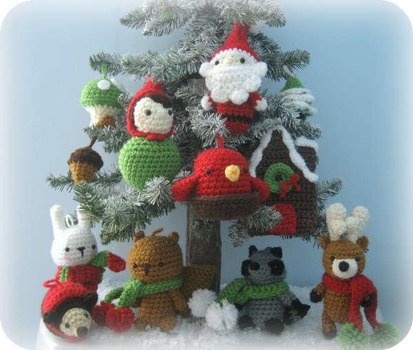 DIY Crochet Christmas Ornaments