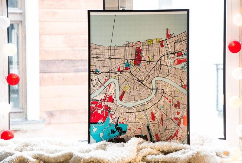 DIY Designer Maps