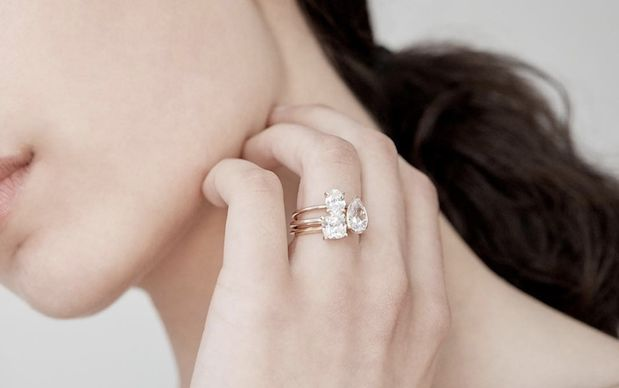 Online DIY Engagement Rings - Sarah & Sebastian's Personalization Service is Convenience-Focused (TrendHunter.com)