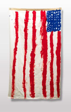 Grungy DIY Flags