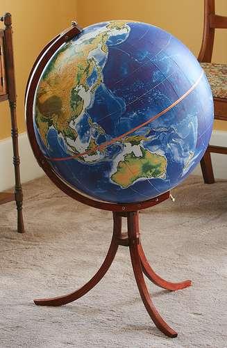 Glamorous DIY Globes