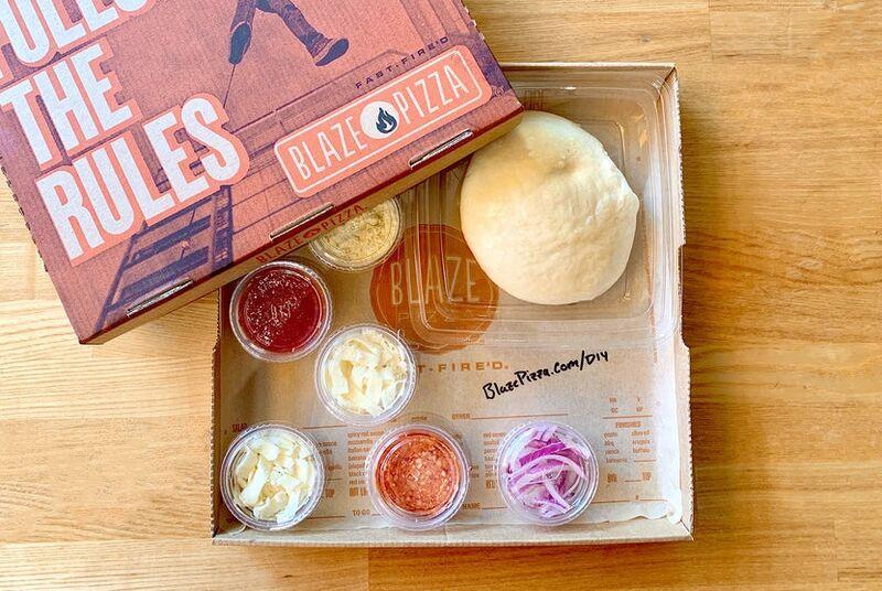 Branded DIY Pizza-Making Kits