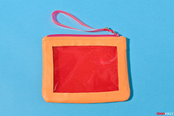 Chic Transparent DIY Pouches
