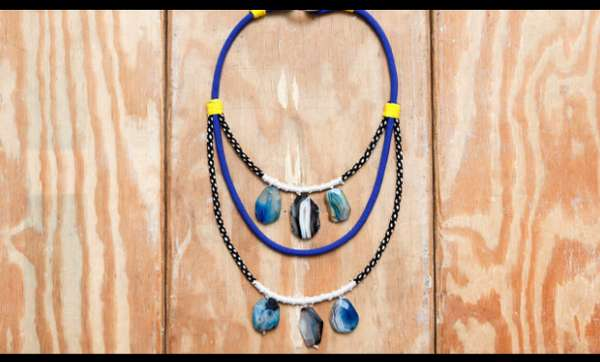 Rock Climbing-Inspired Necklaces