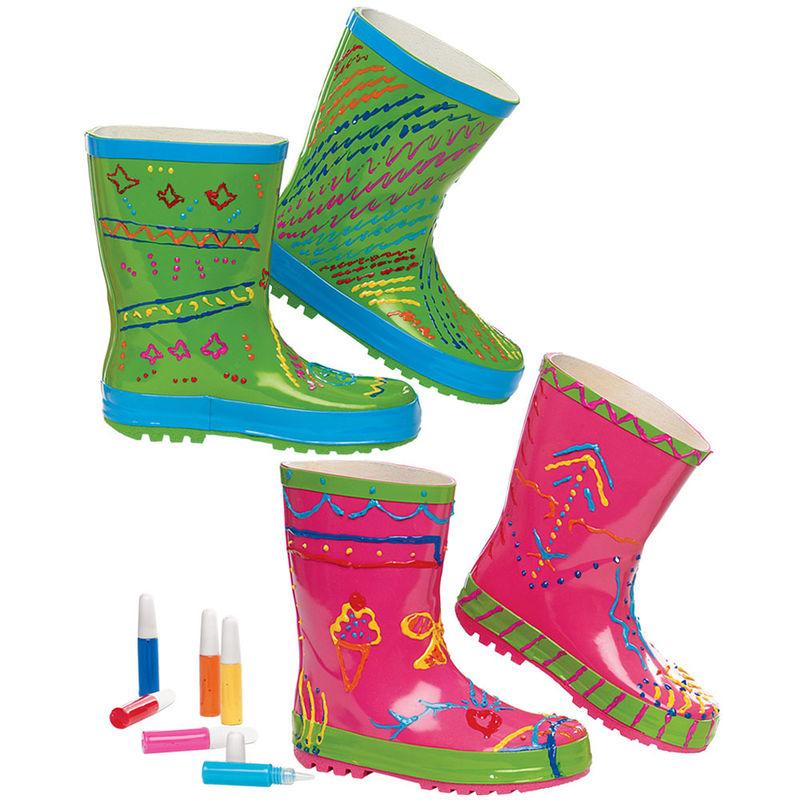 Paintable DIY Rain Boots