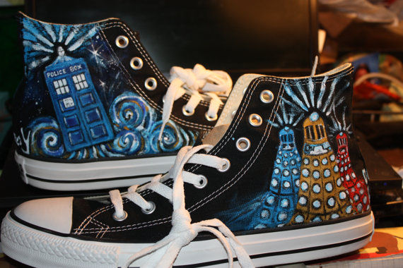Customized Sci-Fi Sneakers