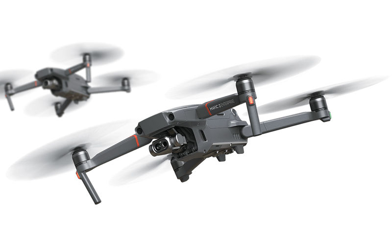 Heat-Sensing Enterprise Drones