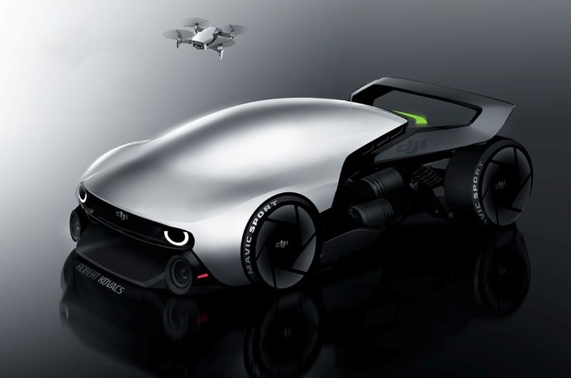 Demure Drone-Inspired Vehicles
