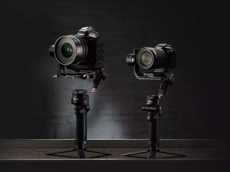 Dynamic Stabilization Camera Gimbals