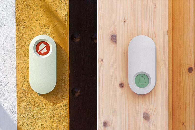Rotating Anti-Distraction Doorbells