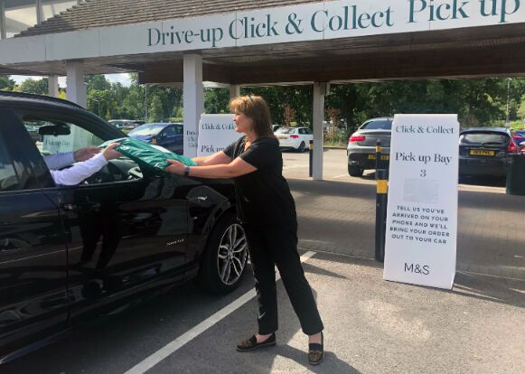 Drive-Up Retail Store Services
