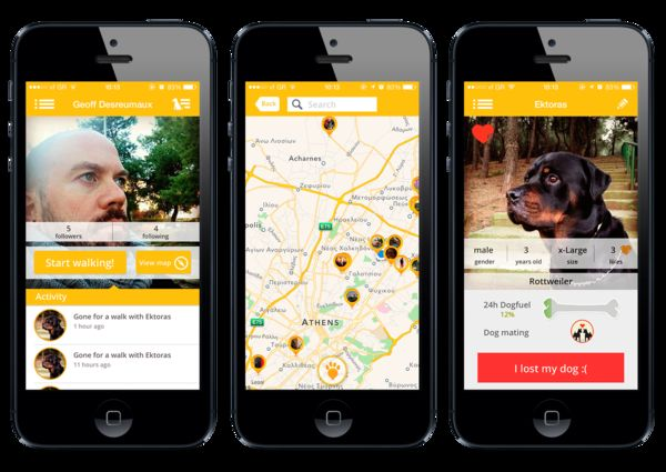 Social Dog Owner Apps