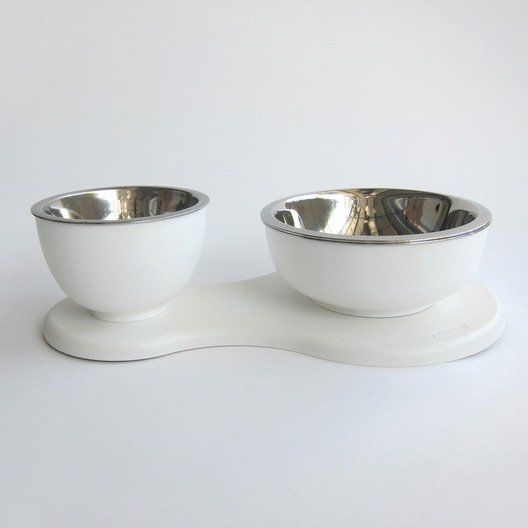 modular pet accessories dog bowl set