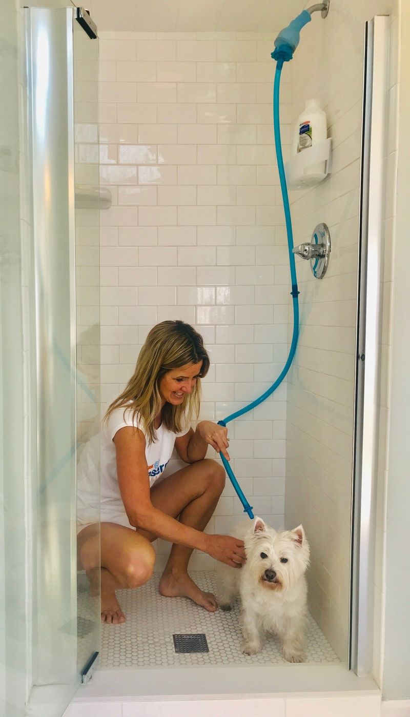 Pet-Friendly Shower Attachments