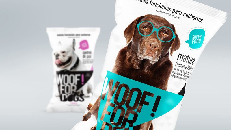 Charismatic Dog Snack Branding