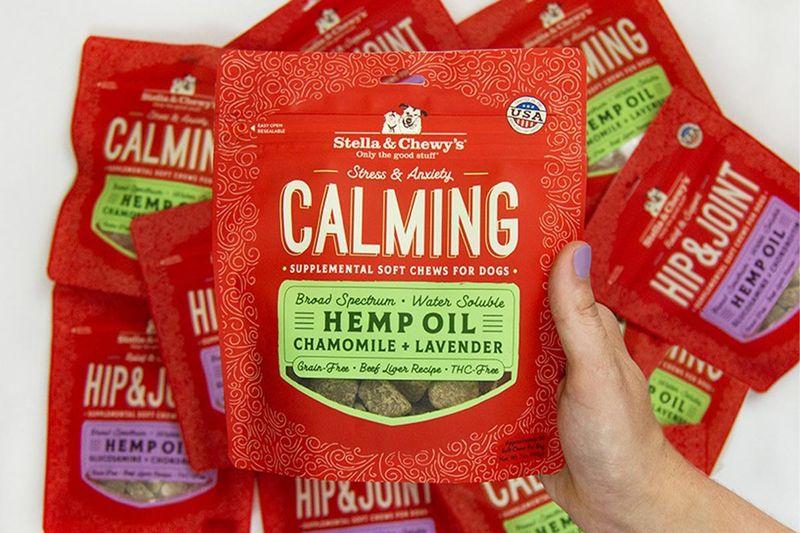 Hemp-Infused Dog Supplements