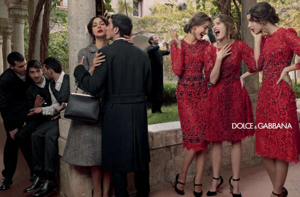 Drama-Filled Fashion Ads   Dolce   Gabbana Fall 2013 d02fe49ac6f26