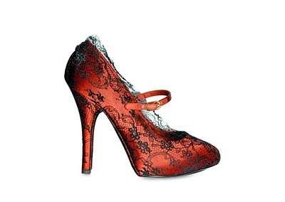 Classy Crimson Heels