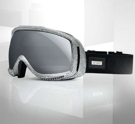 Crystallized Snow Goggles