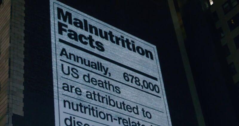 Malnutrition Label Billboards