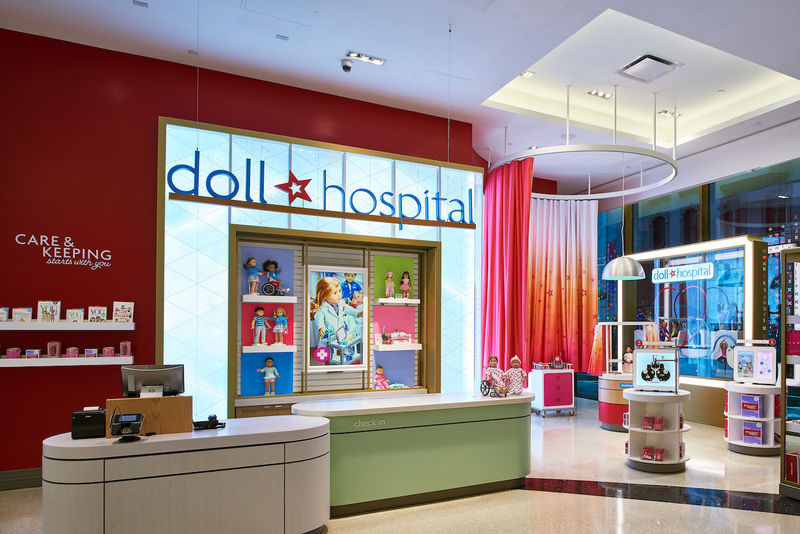 In-Store Doll Hospitals