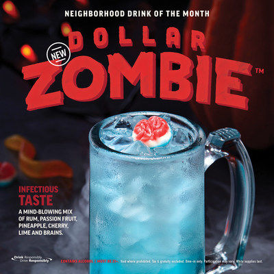 Glowing Zombie Cocktails