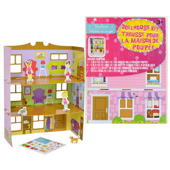 Cardboard Dollhouse Kits