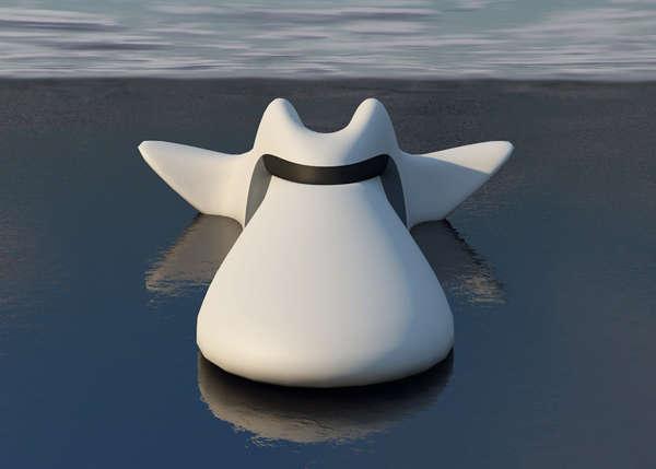 Aquatic Animal-Inspired Boats