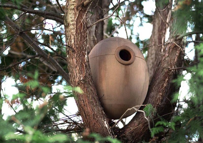 Collapsible Weatherproof Birdhouses