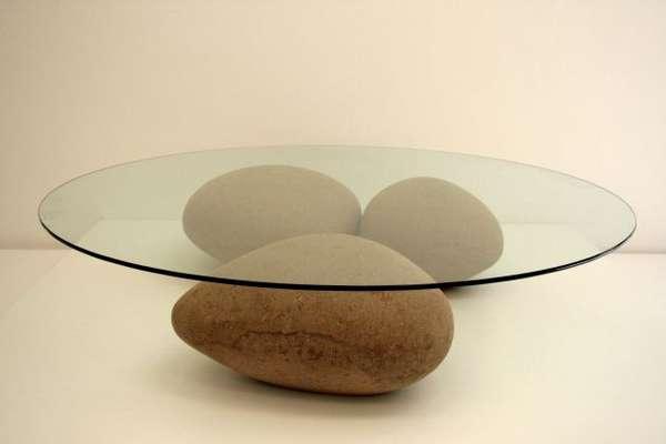 Beau Deceptive Rock Tables