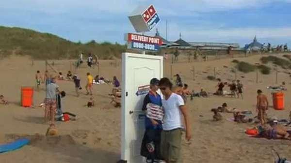 Beach Pizza Delivery